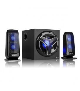 Haut-parleurs pour jeu 2.1 NGS GSX-210 Bluetooth 80W Noir