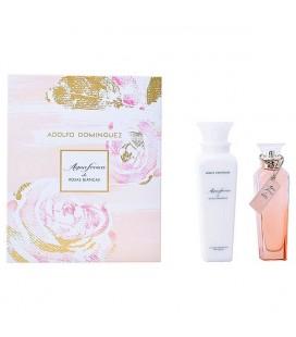 Set de Parfum Femme Agua Fresca Rosas Blancas Adolfo Dominguez (2 pcs)