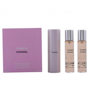 Set de Parfum Femme Chance Chanel edt