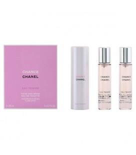 Set de Parfum Femme Chance Eau Tendre Chanel (3 pcs)