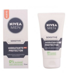 Crème hydratante sans alcool Men Sensitive Nivea