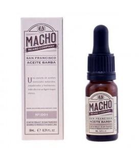 Huile pour barbe San Francisco The Macho Beard Company
