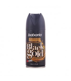 Spray déodorant Men Black Gold Babaria (150 ml)