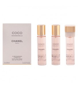 Parfum Femme Coco Mademoiselle Chanel EDT 3 x 20 ml