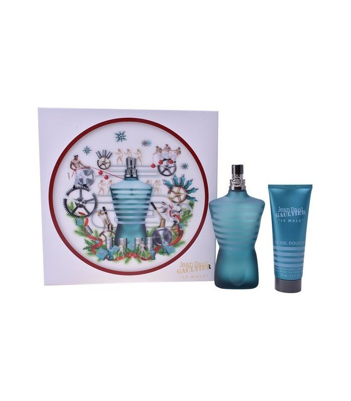 Set De Parfum Homme Le Male Jean Paul Gaultier 2 Pcs