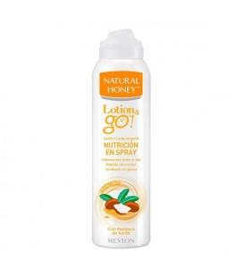 Lait corporel nourrissant Lotion & Go! Natural Honey (200 ml)