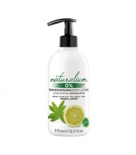 Lotion corporelle Herbal Lemon Naturalium (370 ml)
