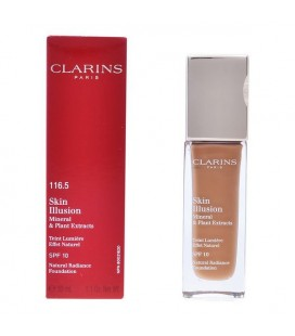 Base de maquillage liquide Skin Illusion Clarins