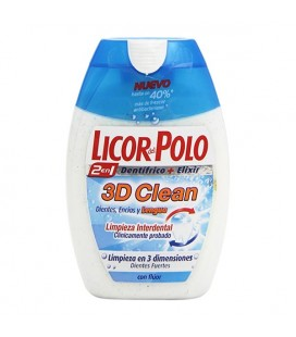 Dentifrice 3d Clean Licor Del Polo (75 ml)