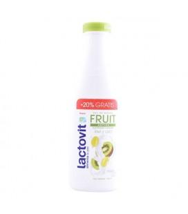 Gel de douche Fruit Antiox Lactovit (720 ml)