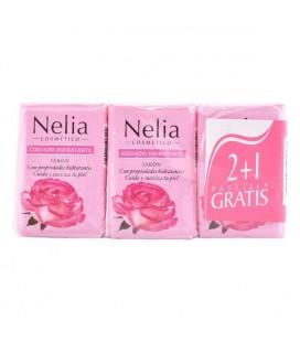 Savon pour les Mains Agua De Rosas Nelia (3 pcs)