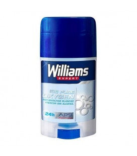 Déodorant en stick Ice Pure Oxygen Williams (75 ml)