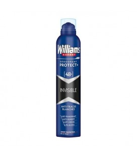 Spray déodorant Invisible Williams (200 ml)