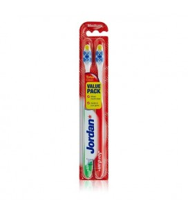 Brosse à Dents Total Clean Medium Jordan (2 uds)