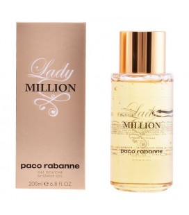 Gel de douche Lady Million Paco Rabanne (200 ml)