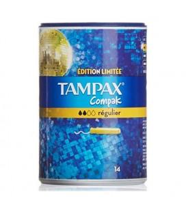 Tampons Réguliers Compak Tampax (14 uds)
