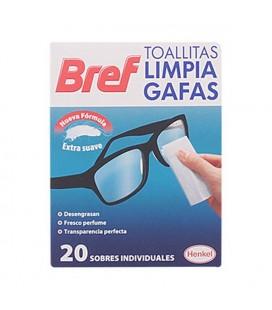 Lingettes pour Nettoyer les Lunettes Bref (20 uds)