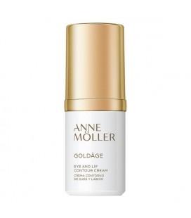 Crème anti-âge contour des yeux et des lèvres Goldâge Anne Möller (15 ml)