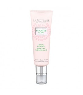 Fluide hydratant et matifiant Pivoine Pure L´occitane (50 ml)