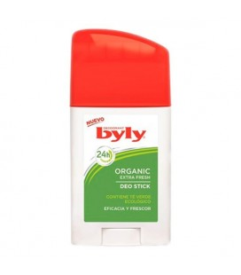Déodorant en stick Organic Extra Fresh Byly (75 ml)