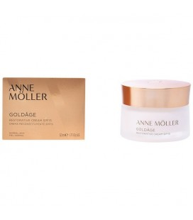 Crème régénératrice anti-âge Re-plasty Anne Möller Spf 15 (50 ml)