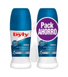 Désodorisant Roll-On For Men Byly (2 uds)