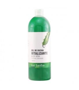 Gel de douche Vitalizante Aloe Vera Tot Herba (1000 ml)