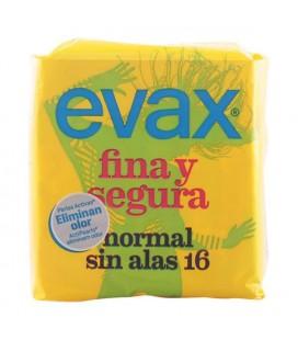 Compresses Normales sans Ailes Fina & Segura Evax (16 uds)