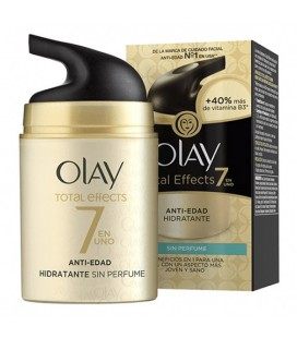 Crème hydratante anti-âge Total Effects Olay (50 ml)