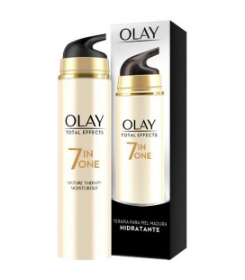 Crème hydratante anti-âge Total Effects Olay (50 ml) Peaux matures