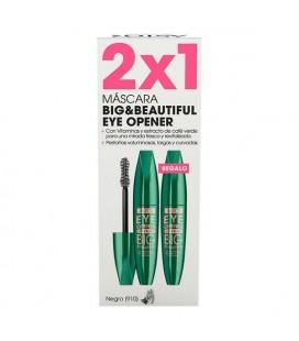 Mascara pour les cils effet volume Big & Beautiful Eye Opener Astor (2 uds)