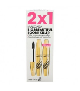 Mascara pour les cils effet volume Big & Beautiful Boom Killer Astor (2 uds)