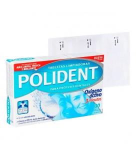 Nettoyant Dentiers Polident (30 pcs)