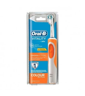 Brosse à Dents Vitality Cross Action Oral-B Orange