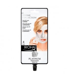 Masque facial Peel Off Platinum Iroha