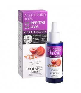 Huile hydratante Grape Seeds Voland Nature (30 ml)