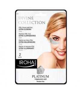 Patchs pour le contour des yeux Platinum Iroha (2 uds)