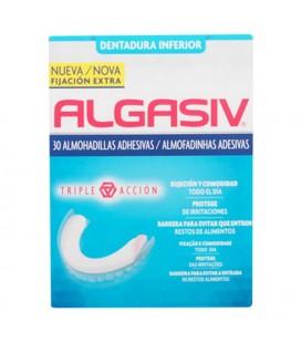 Coussinets Adhésifs pour Dentiers Algasiv (30 uds)
