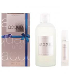 Set de Parfum Femme Acqua Uno Luxana 600001 (2 pcs)