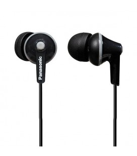 Casque Panasonic RP-HJE125E in-ear Noir