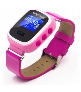 Smartwatch pour enfants Overnis 221915 GPS GSM Tracking USB 5 V Rose