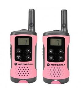 Talkie-walkie Motorola TLKR T41 4 km LCD 16 h AAA Rose