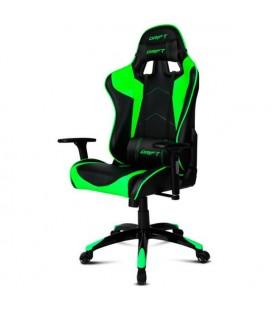 Chaise de jeu DRIFT DR300BG 90-160º Mousse Noir Vert