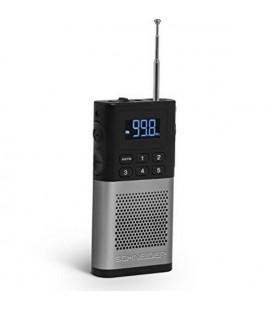 Radio Transistor SCHNEIDER PICCOLO AM/FM LED Gris