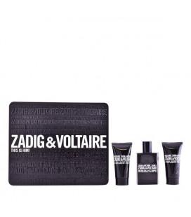 Set de Parfum Homme This Is Him! Zadig & Voltaire (3 pcs) Noir