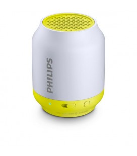 Haut-parleur portable Bluetooth Philips BT50L/00 2W Gris Citron