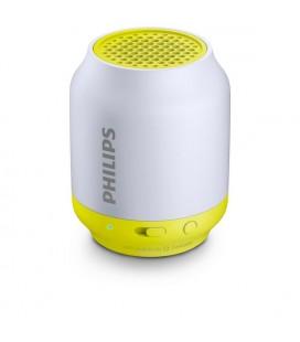 Haut-parleur portable Bluetooth Philips BT50L/00 2W Gris Citron