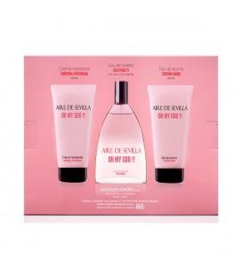 Set de Parfum Femme Oh My God Aire Sevilla (3 pcs)