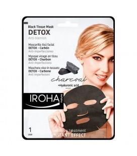 Nettoyant visage Detox Charcoal Black Iroha