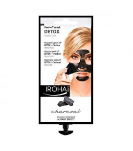 Masque purifiant Detox Charcoal Black Iroha